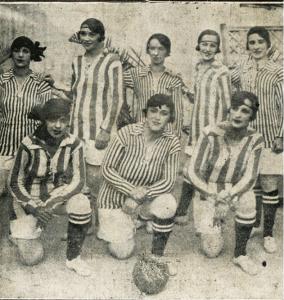 Lições Futebol Feminino - Anos 20