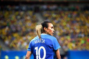 Lições Futebol Feminino - Marta