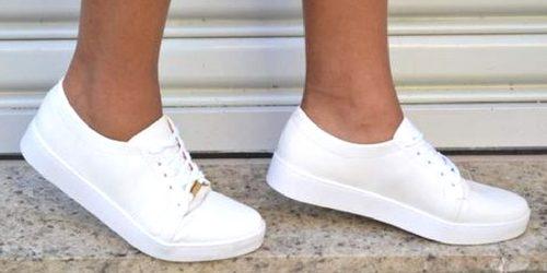 11744dce407 tênis branco é tendência de moda entre as fashionistas