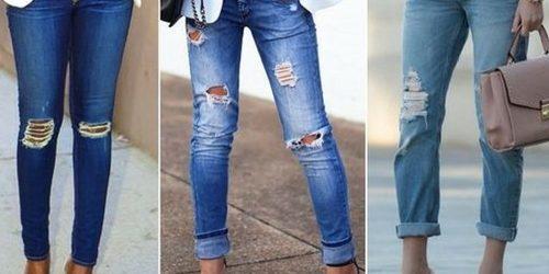 f4d5883a9 Jeans Destroyed  confira dicas para você arrasar por aí