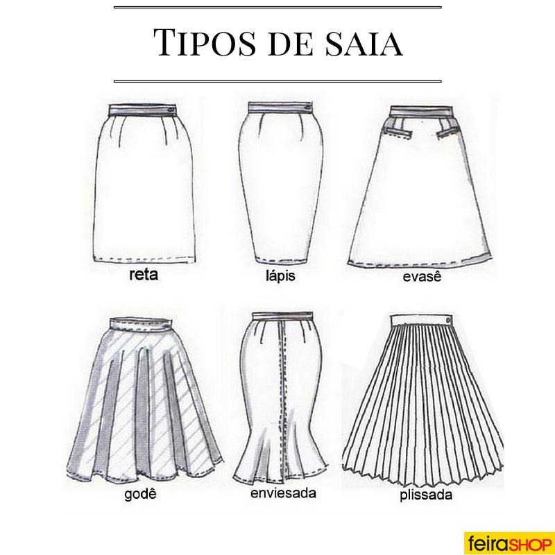 Tipos de saia para cada tipo de corpo