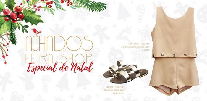 Achados da semana Feira Shop Especial de Natal