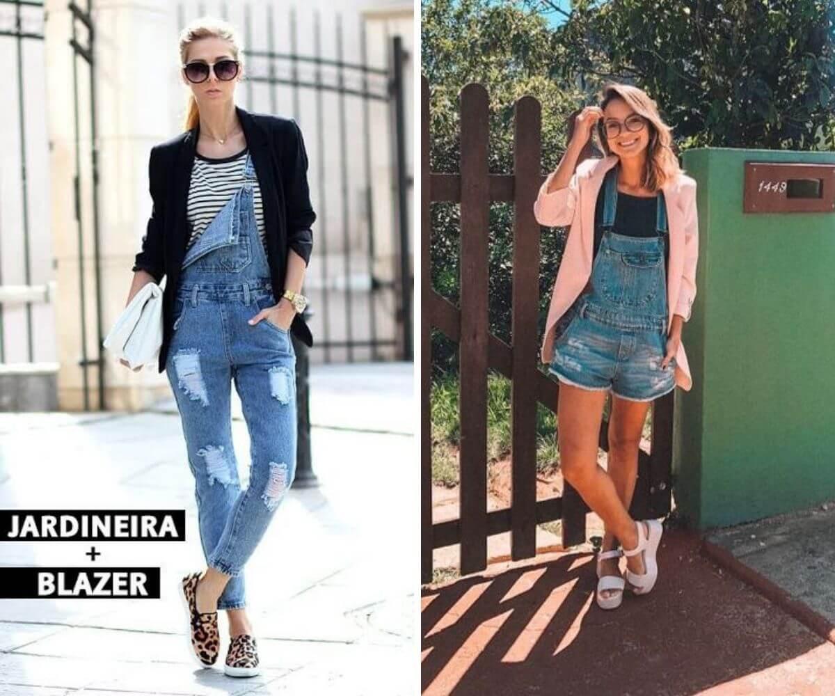 Como usar jardineira jeans dicas blog feira shop bh
