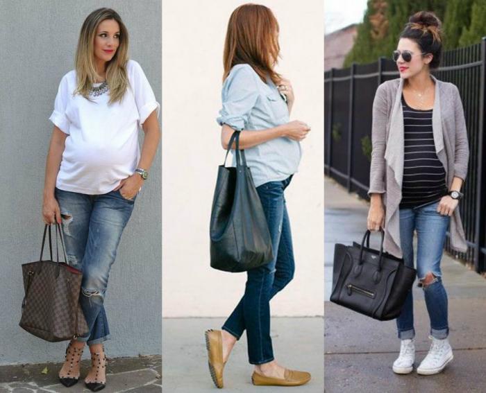 15 Looks para gestantes estilosas