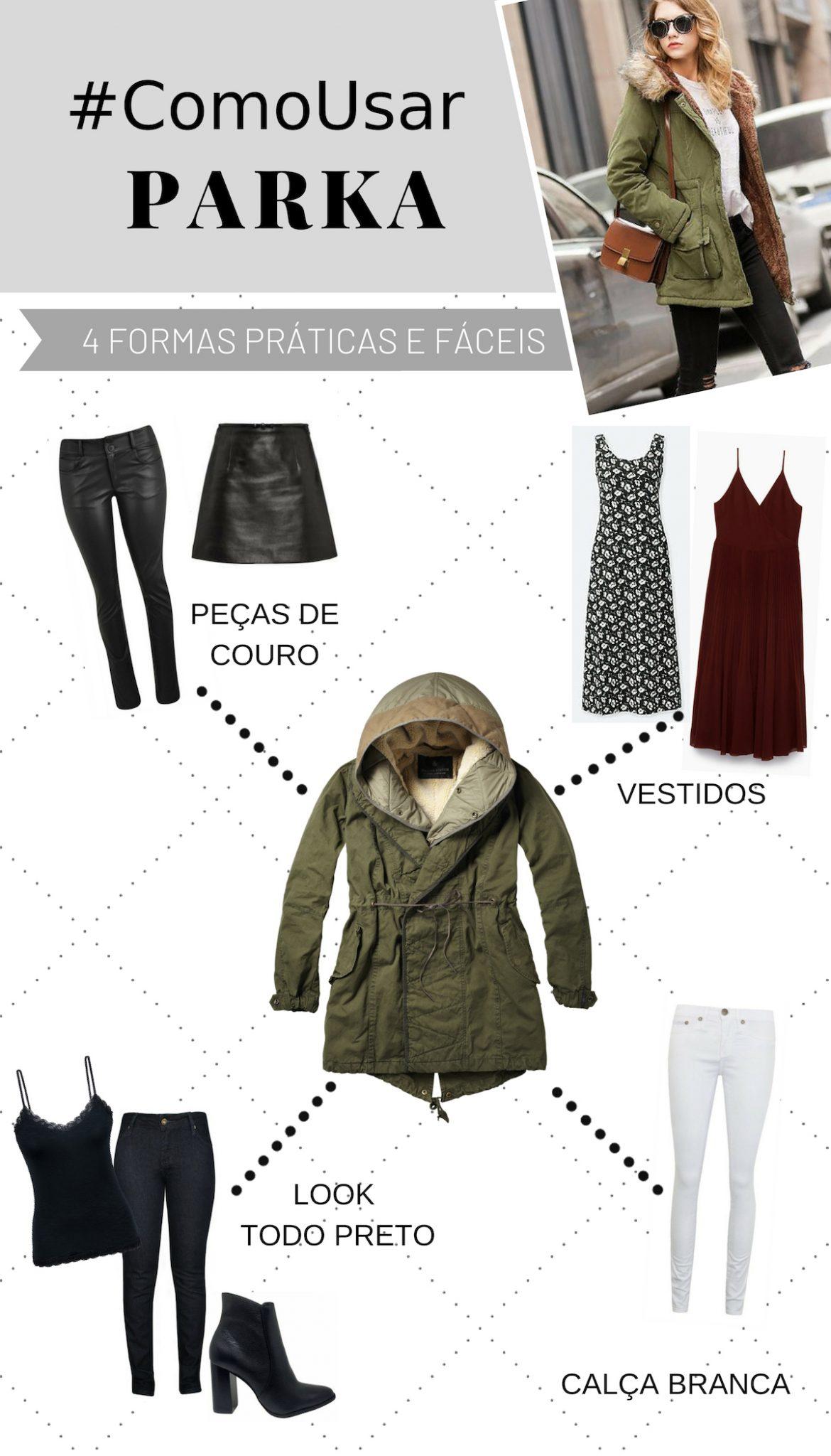 como usar parka formas de usar dicas outono inverno 2019 blog feira shop