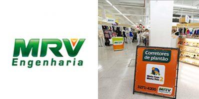 Ação de divulgação da MRV na Feira Shop - Merchandising na Feira Shop