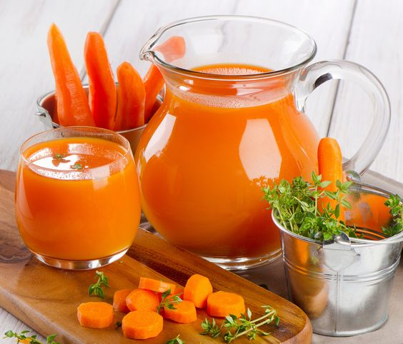 sucos cenoura
