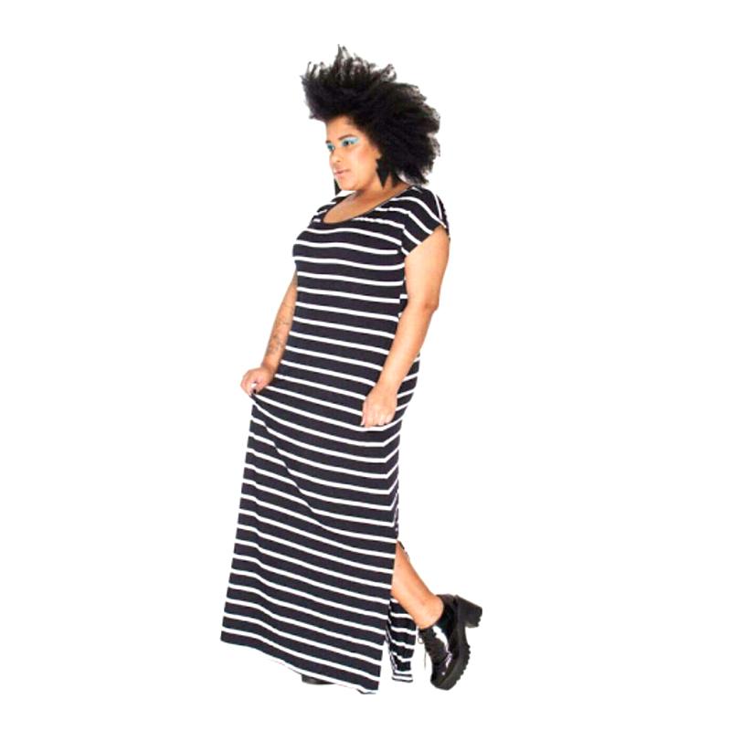 Vestido Plus Size   Explode Coração Tamanhos Especiais