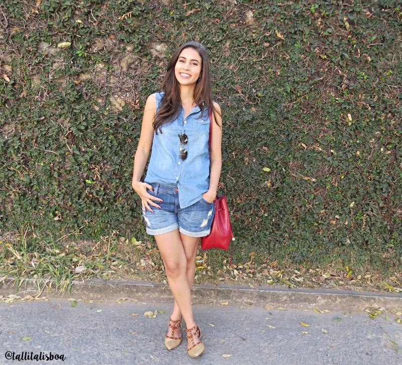 Como usar jeans com jeans no verão