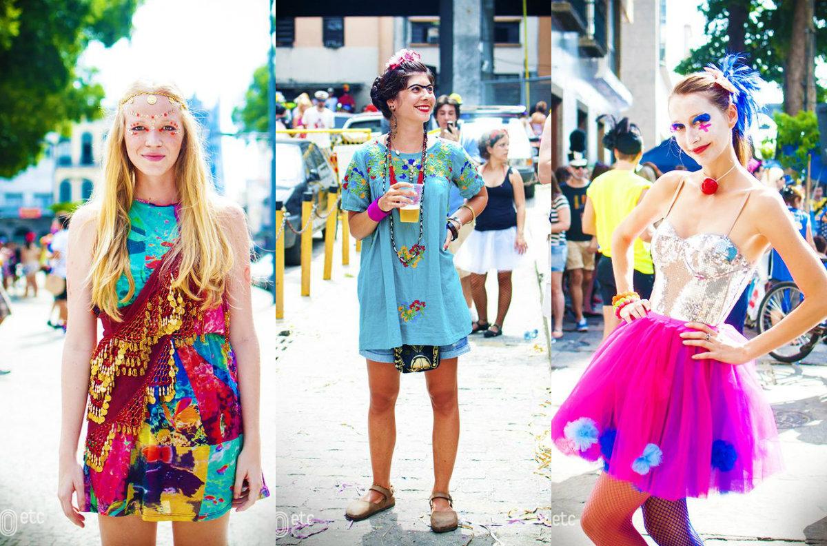looks coloridos para o carnaval