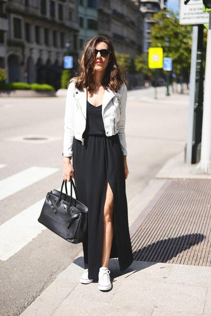 Tendência: O tênis branco, que afinal sempre esteve presente, agora surge como protagonista e é possível compor desde um look fashion até um casual.
