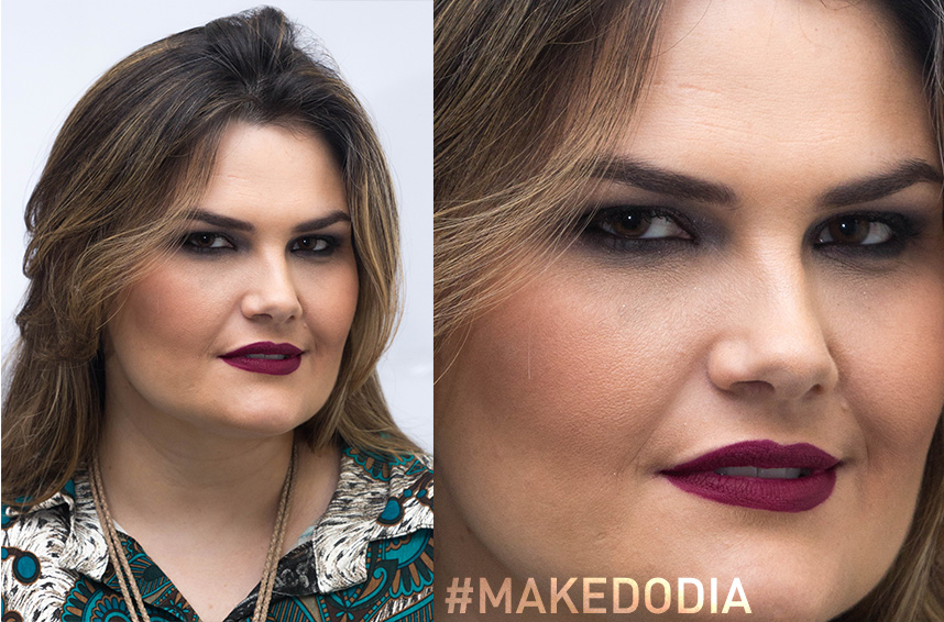 #MakeDoDia - estilo urbano: A top maquiadora, Rô Moreira, te ensina a trazer o estilo urbano direto para a make. Boca.