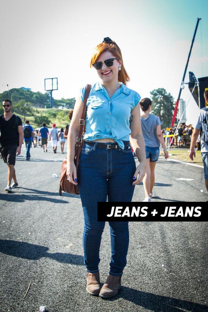 Esse fim de semana tem mais festival de música rolando no Rio de Janeiro! E é claro que a gente tá aqui pra te ajudar na hora de montar o seu look, seja para curtir qualquer festival de música, ou o Rock in Rio. Jeans com Jeans.