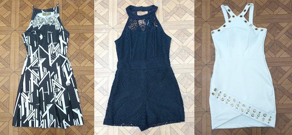 b9d7c8d13 O vestido P&B pode ser seu maior aliado na hora de curtir a noite entre  amigas. O modelo ajusta ao corpo deixando a silhueta maravilhosa.