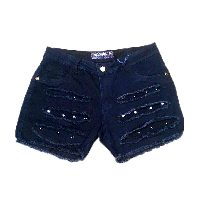 Short Jeans Plus Size   Explode Coração Tamanhos Especiais