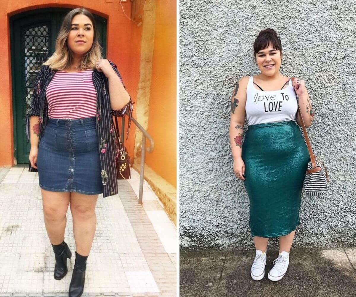 Inspirações e dicas de looks plus site blog Feira Shop BH