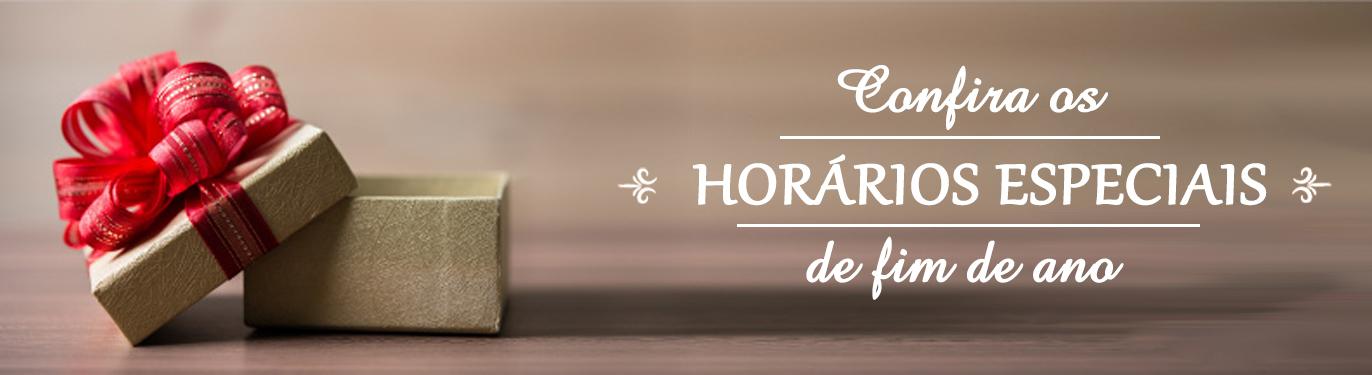 Banner Home - Horário Especial Fim de Ano