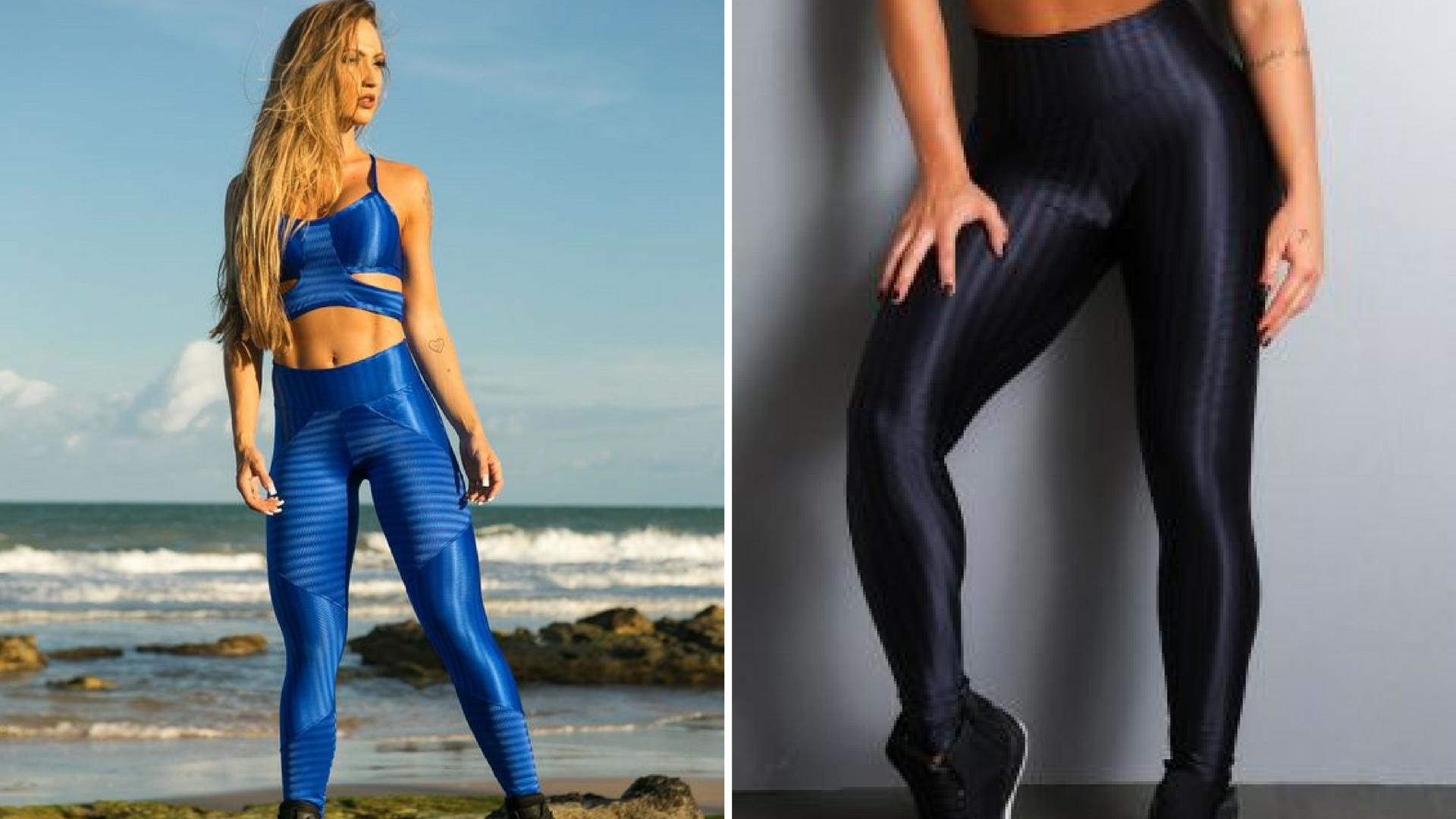 Tendência dos anos 80 na moda fitness