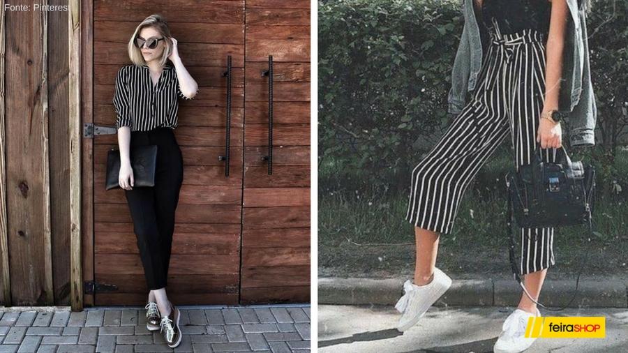 Use suas calças sociais com flatforms