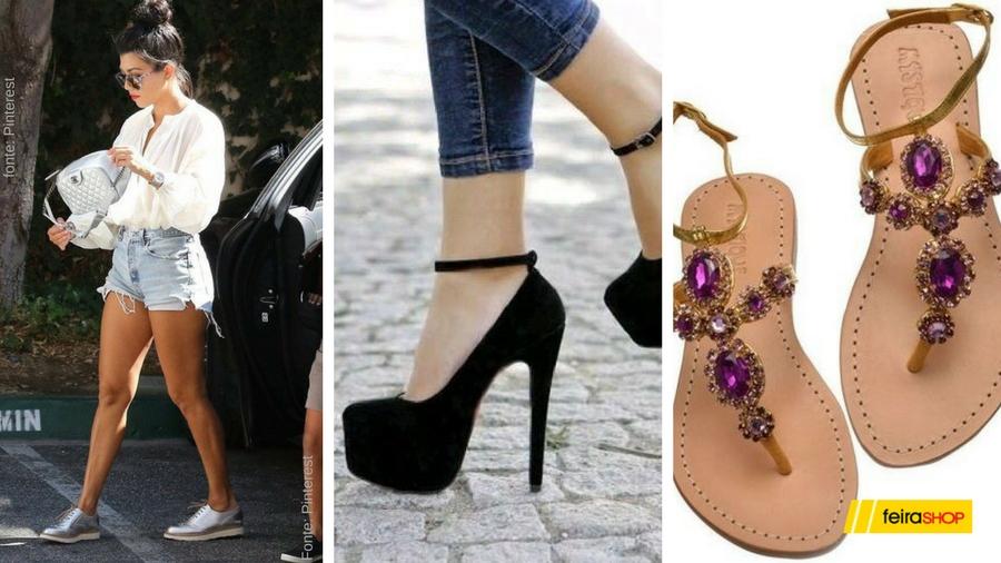 calçados para balada