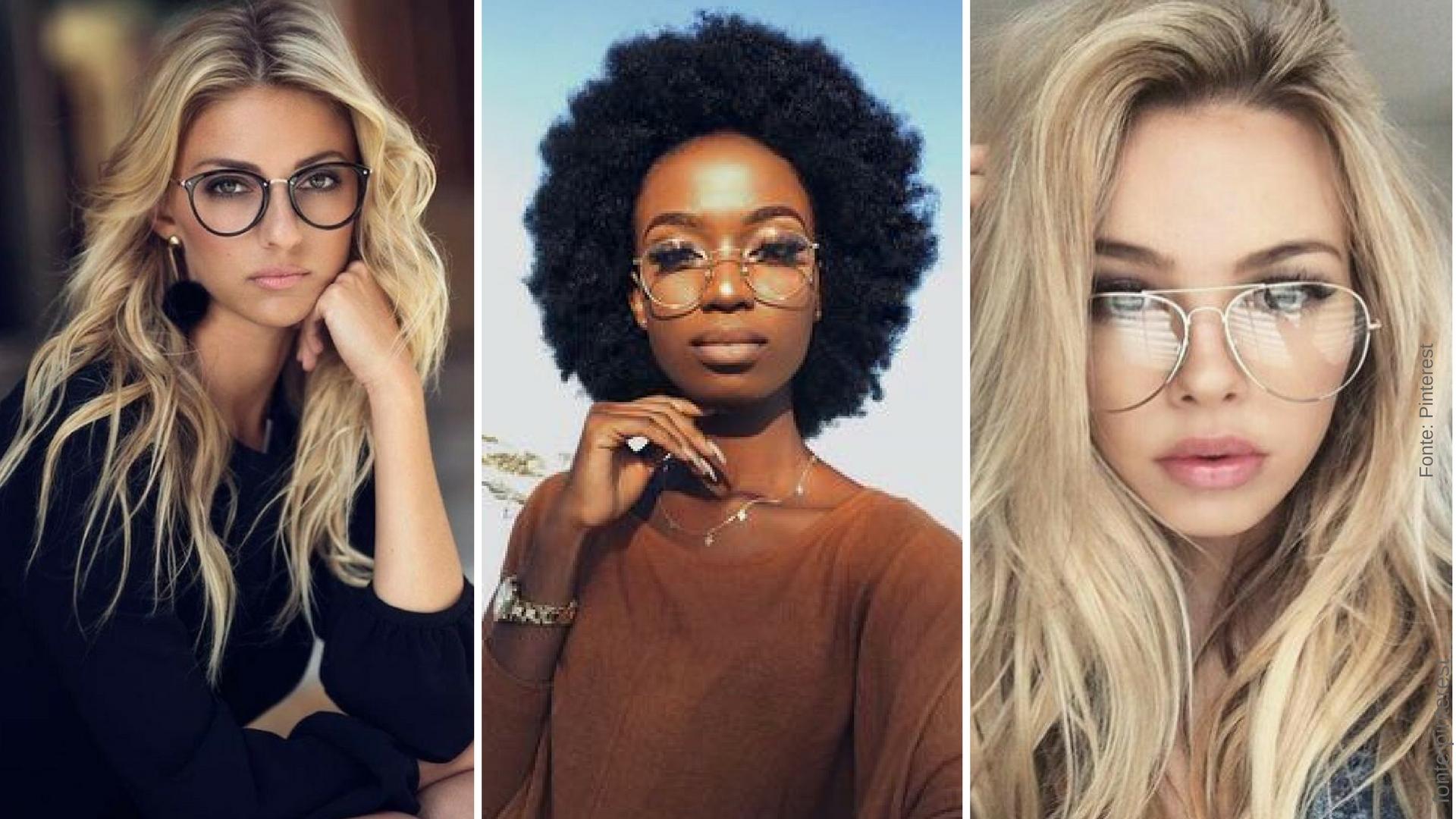 Óculos de grau são novos queridinhos da moda