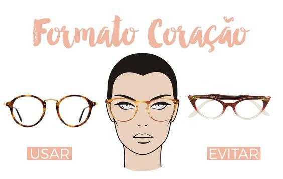 Saiba qual o modelo de óculos ideal para rosto em forma de coração