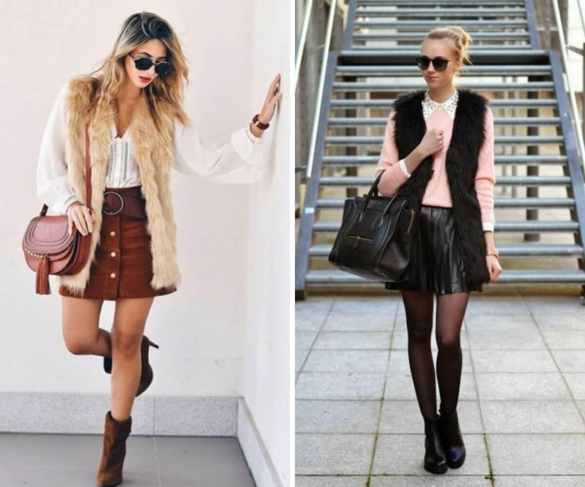 Como usar colete de pelo fake dicas blog feira shop bh