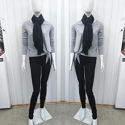 Blusa manga longa e calça | Camila vaz