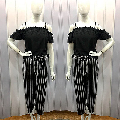 Blusa e calça pantalona | Feminina Store