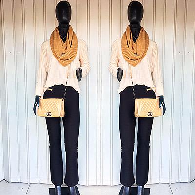Blusa manga longa e calça   Maria Bonita Moda