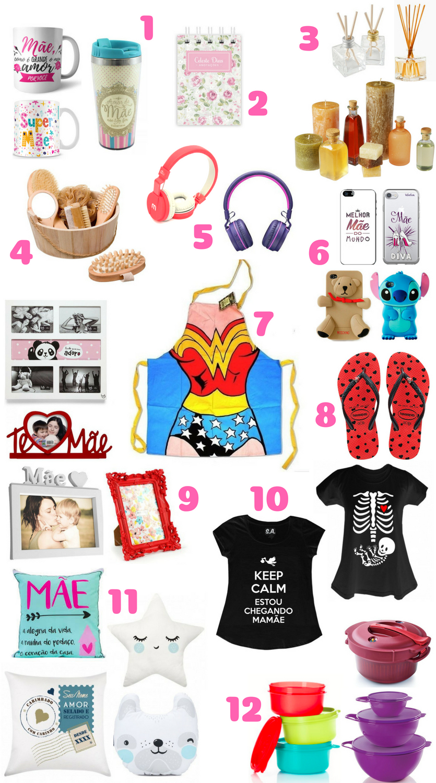 Ideias de presentes criativos para o dia das mães