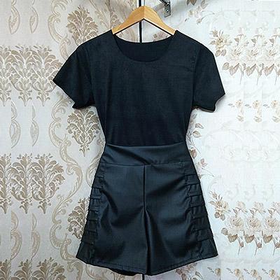 Look blusa e short | Sodalita