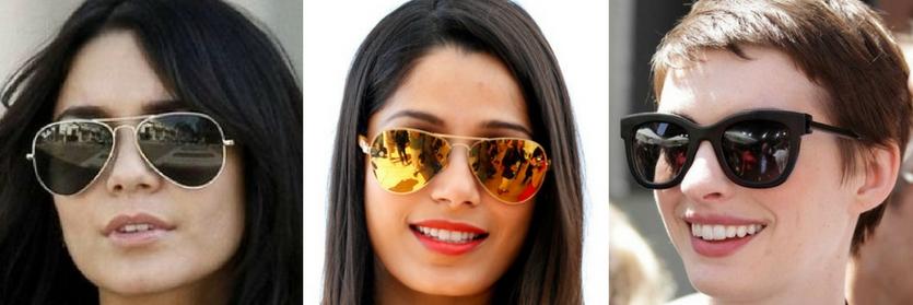 Modelo de óculos ideal para rosto quadrado