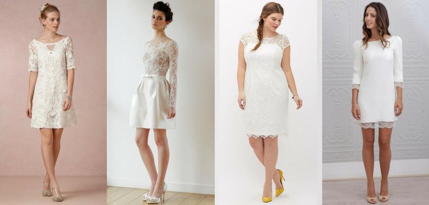 O que vestir no casamento civil - Vestido curto