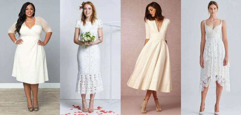 O que vestir no casamento civil - Vestido midi