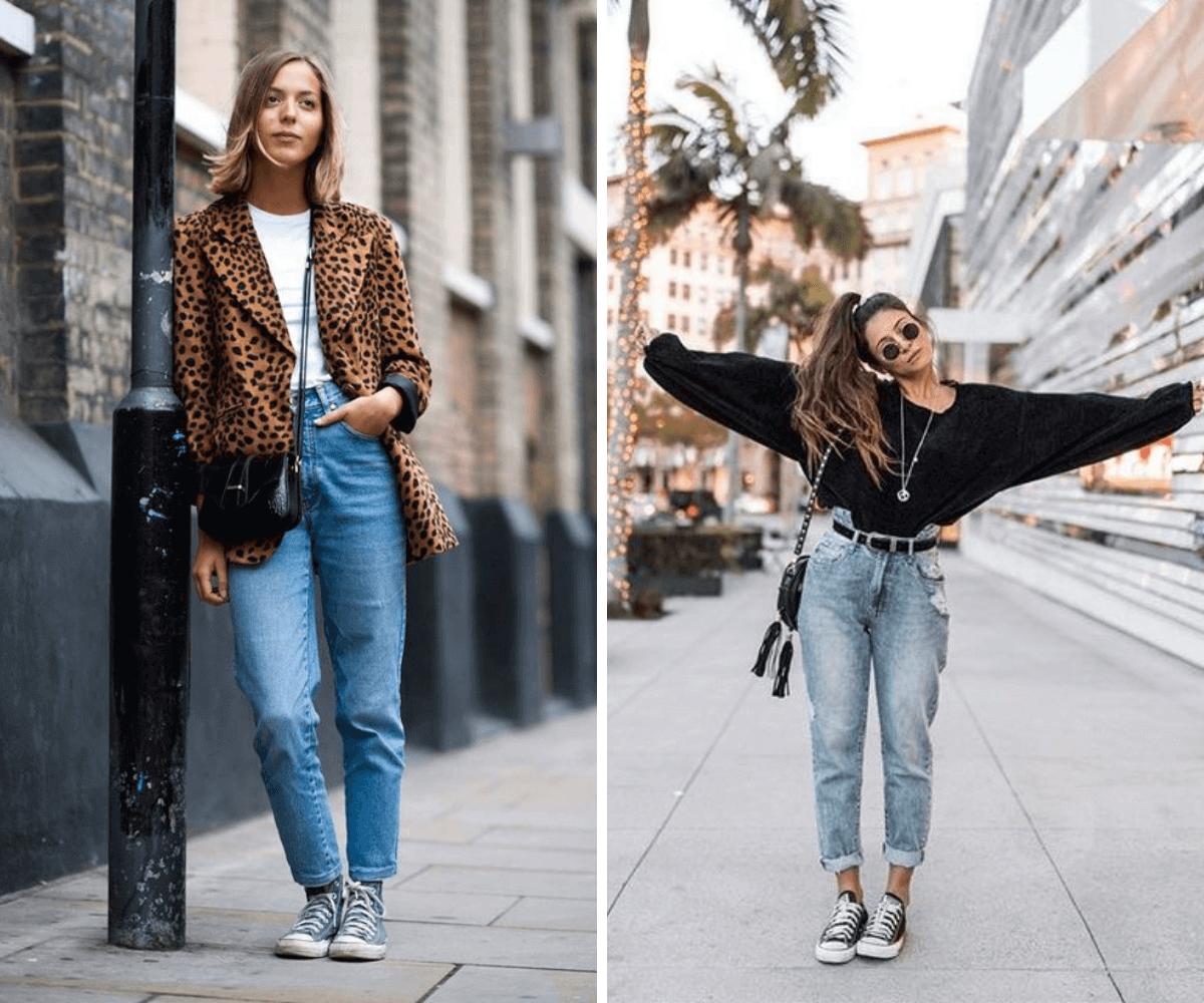 Calça mom jeans tendencia anos 90 outono/inverno blog feira shop bh