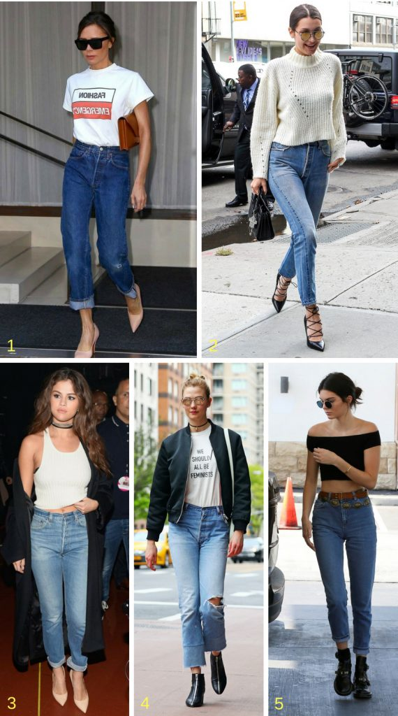 Tendencia retro Mom Jeans