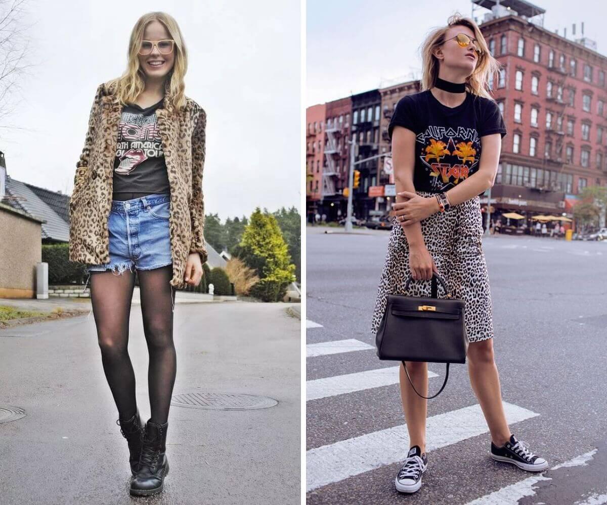 Peças com estilo rocker dicas Feira Shop BH