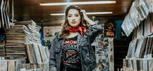 Mundo de Juliana na batalha de looks rocker