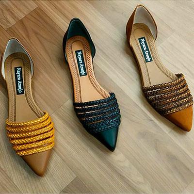 Sandália rasteirinha bico fino | La Vitrina calçados
