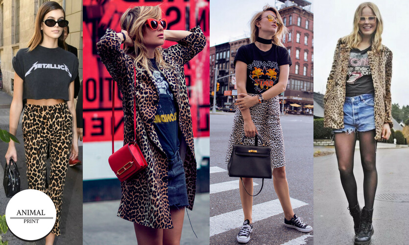 Dia Mundial do Rock: looks animal print