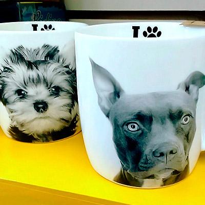 Xícara de cachorro | Ops'! Presentes criativos