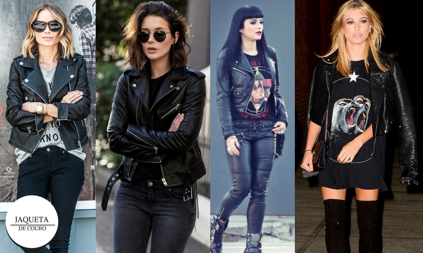 Dia Mundial do Rock: jaqueta de couro