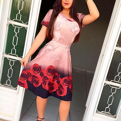 Vestido floral | Prislu