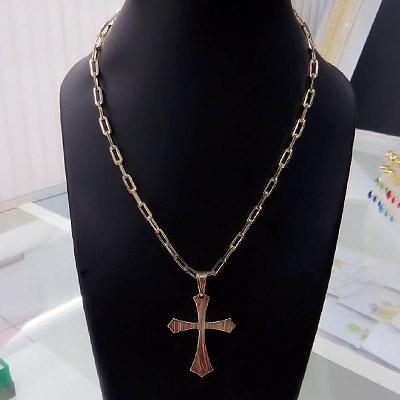 Colar crucifixo | Virtus Semijoias