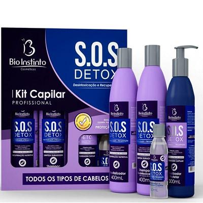 Kit capilar SOS Detox   Loris Cosméticos