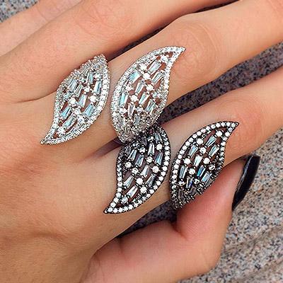 Anéis de pedra   Safia's Acessórios
