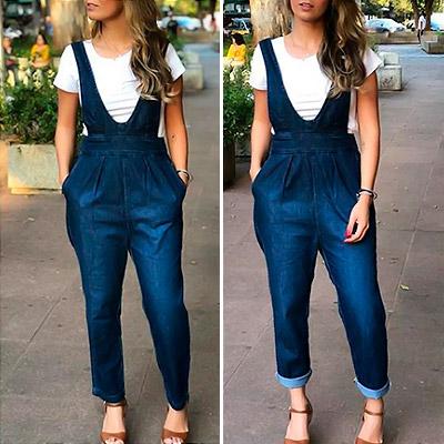 Macacão salopete jeans   Setembro 23