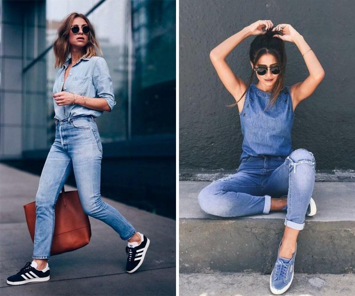 Como usar jeans com jeans all jeans dicas blog feira bh