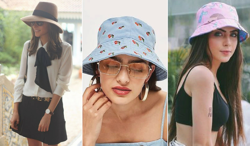 acessórios para o verão 2019 - chapéu